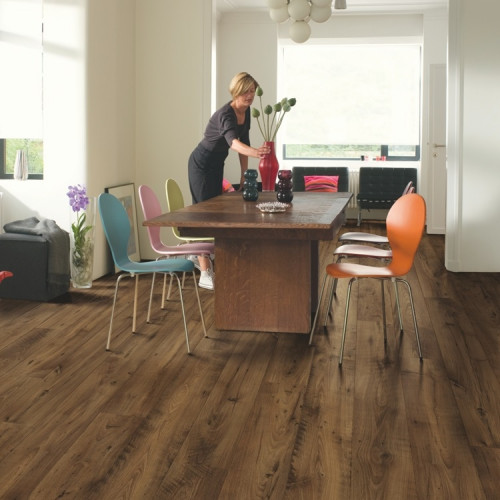 Quick Step Perspective Wide ULW1542 Reclaimed Kastanje Donker